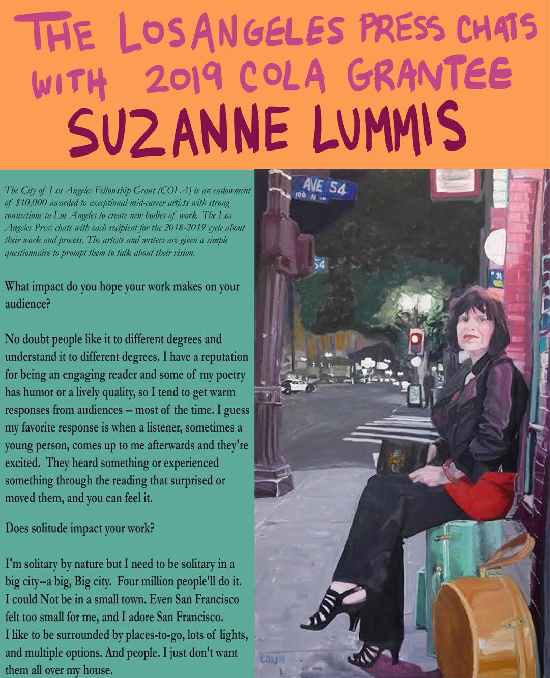 Adore Los Angeles suzanne lummis – the los angeles press